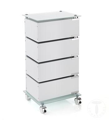 cassettiera con ruote BOBO 4C
