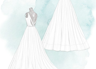 What it's Like Buying a Wedding Dress Online