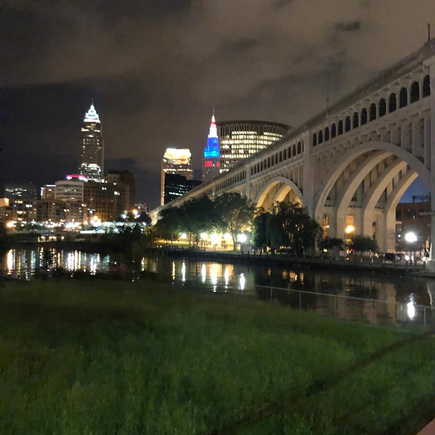 So pretty at night!