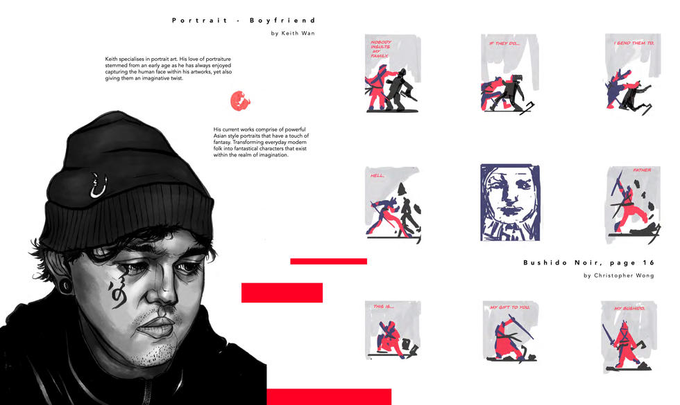 Illustrators: Keith Wan & Christopher Wong