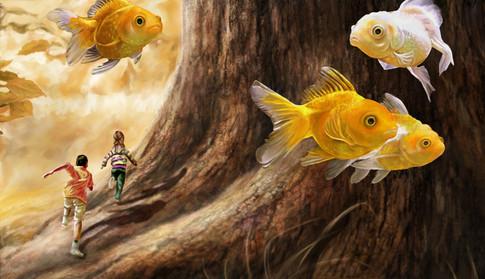 Swimming in Fantasy