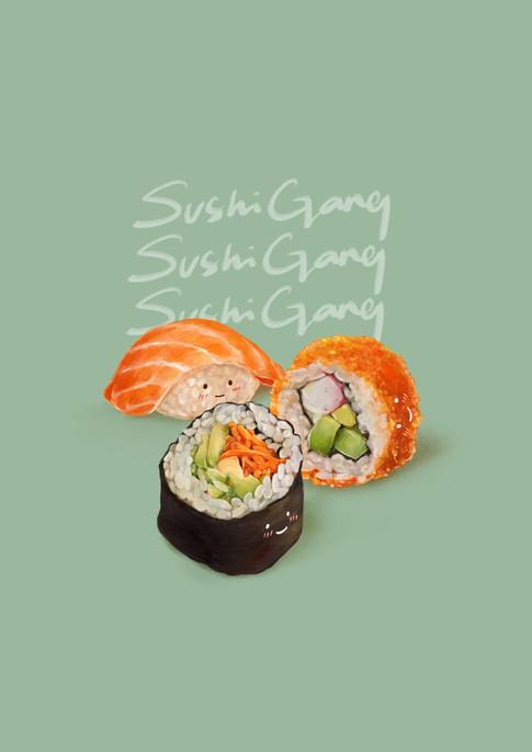 Sushi Gang Sushi Gang Sushi Gang