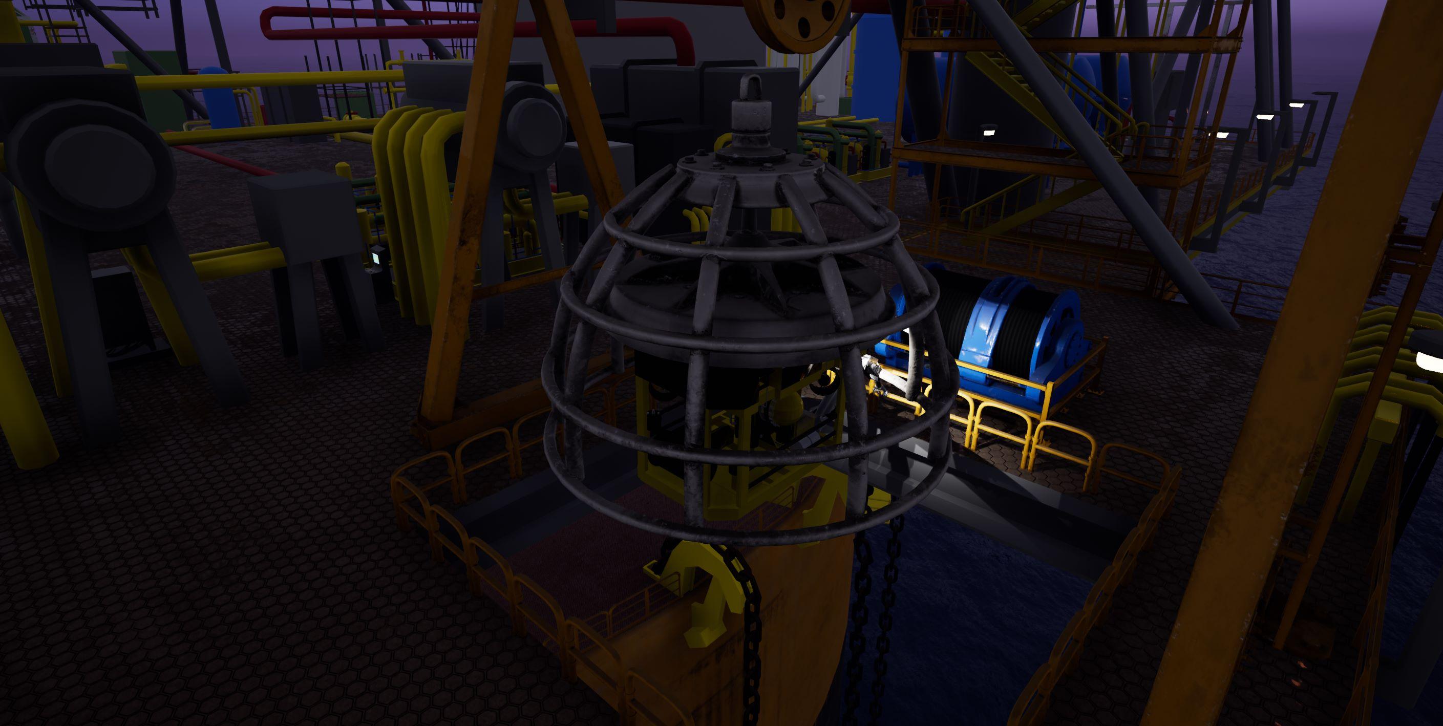 Sub sea robot cage