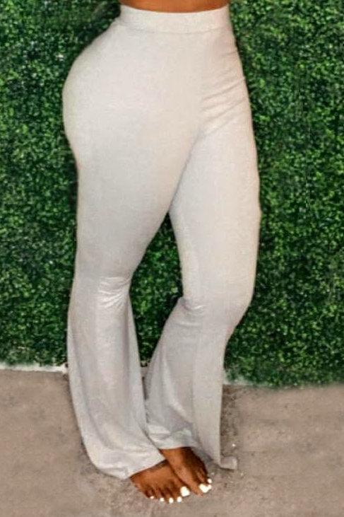 Grey Boho Pants