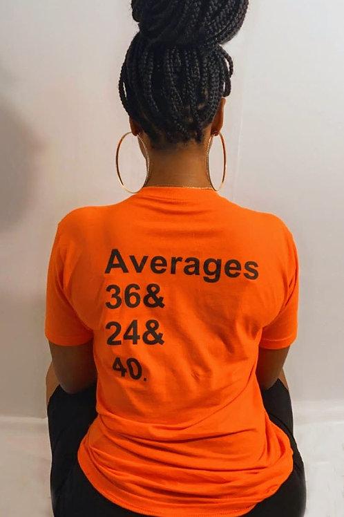 I Put Numbers On The Board Orange