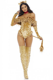 Lion 4 Piece Costume