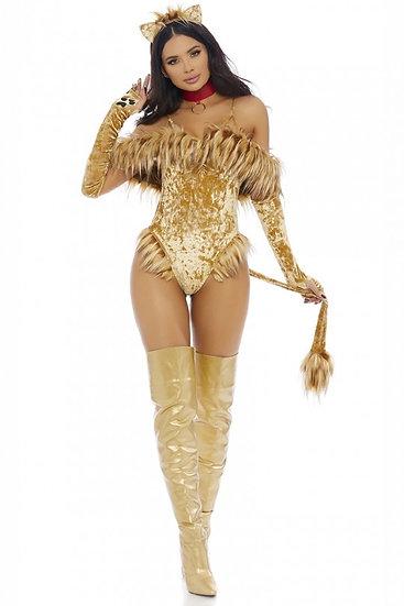 Lion 4 Piece Costume