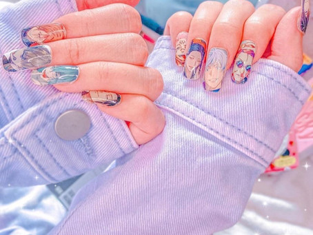 25 Anime Inspired Nails You'll Love