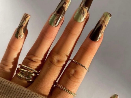 30 Stunning Acrylic Coffin Nails for 2021