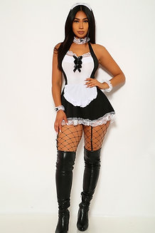 4 Piece Maid Costume