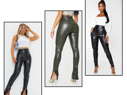 Faux Leather Pants for the Girlssss!