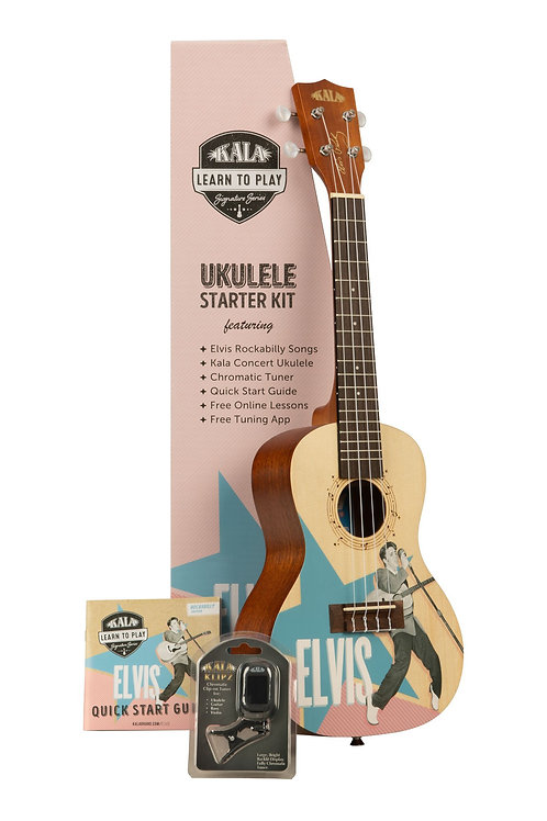 Elvis Signature Series Rockabilly Concert Ukulele