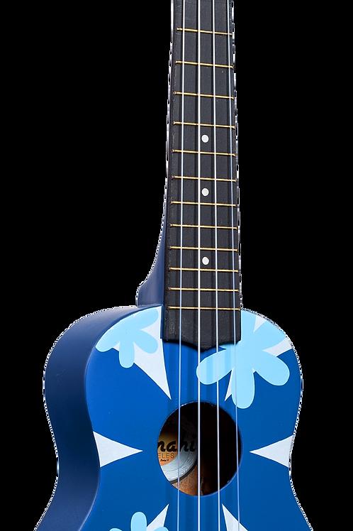 Amahi Blue Flower Ukulele