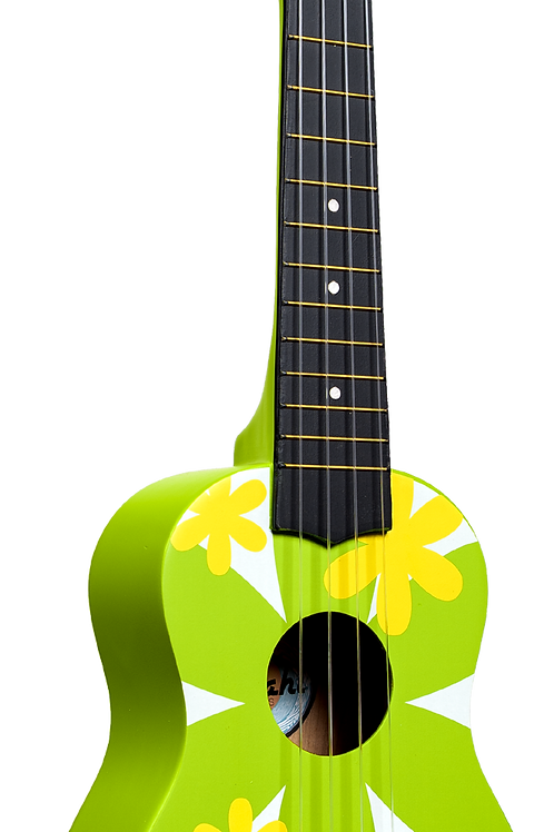 Amahi Green Flower Ukulele