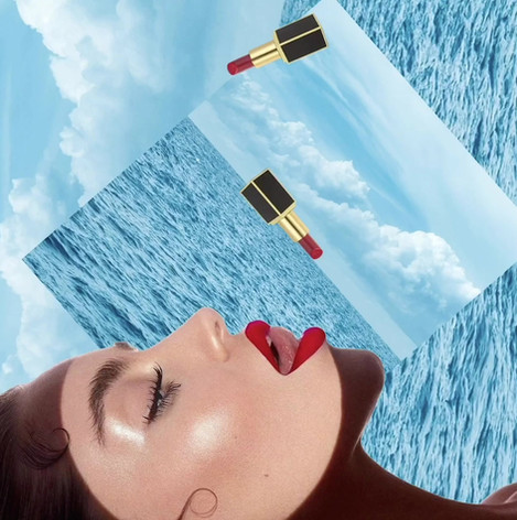 beauty collage animation
