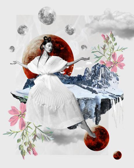 Sasha Samsonova collage art