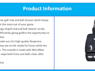 Product Success Story - Tidy Golfer