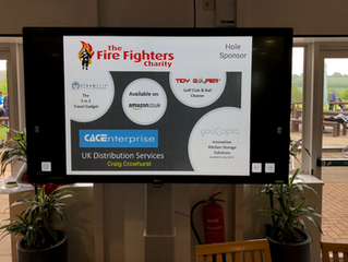 CAC Enterprise Supports Charity Golf Day for The Firefighters Charity.