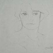 margaret - c1979 (pencil on paper)
