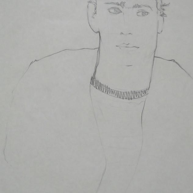 ken - c1978 (pencil on paper)