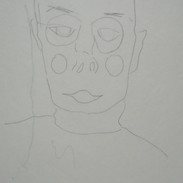 me, too - c1989 (pencil on paper)