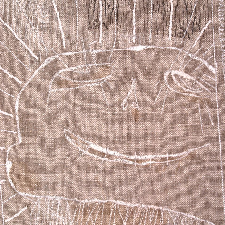scarecrow - detail 2006 (hemp)