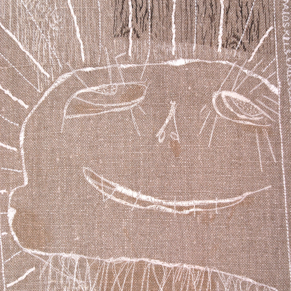 scarecrow - detail 2006 (hemp)