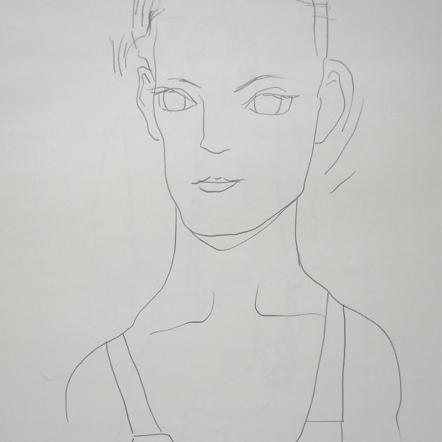 zoe - c2005 (pencil on paper)