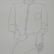 billy - 1984 (pencil on paper)