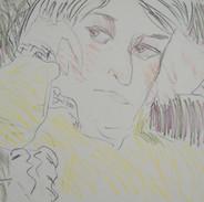 wendy - c1079 (pencil  and pencil crayonon paper)