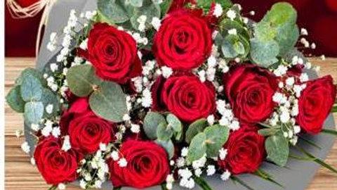 Valentine Extravagant Love Bouquet (7roses)