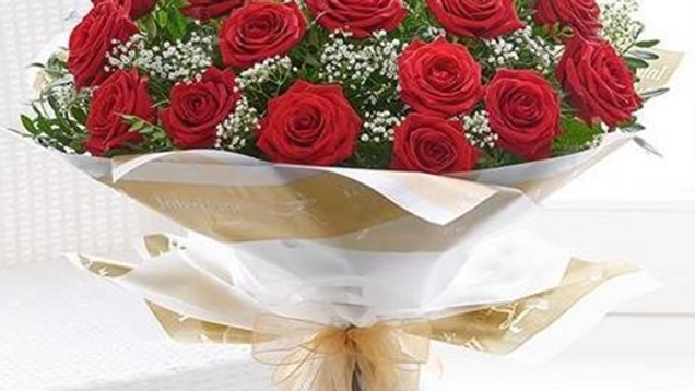 Valentine Gold Bouquet
