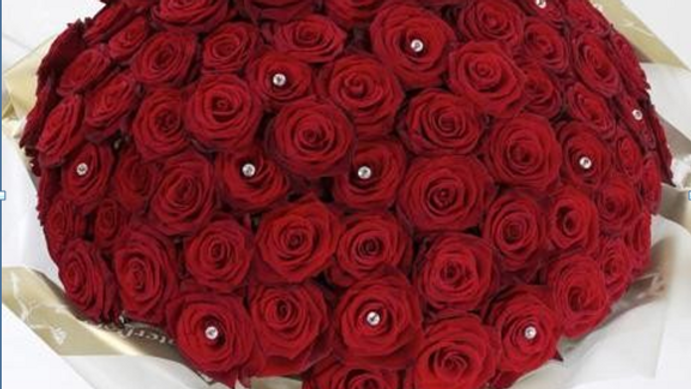 Valentine Ruby Bouquet (40roses)
