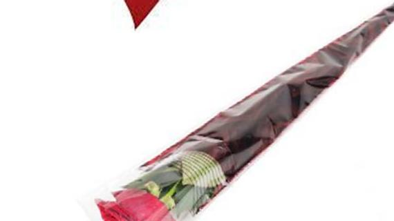 Valentine Presentation Rose Sleeve