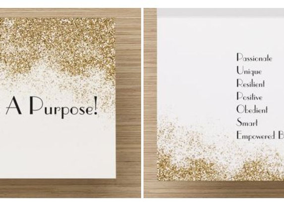 You have purpose! Assorted Note Cards