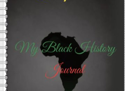 My Black History Inspire! Journal or Planner ($15 /$17)