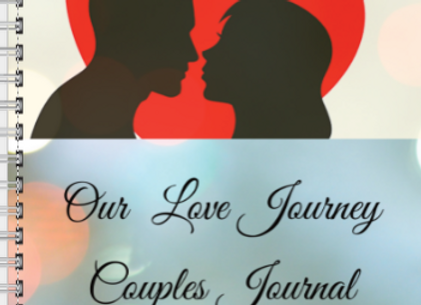 Couples Our Love Journey Journal or Planner ($15 /$17)