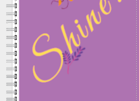 Shine Lilac Journal or Planner ($15 /$17)