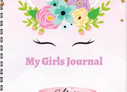 Girls Unicorn Journal