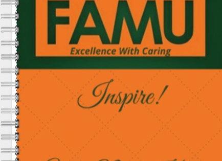 FAMU Inspire Journal or Planner ($15 /$17)