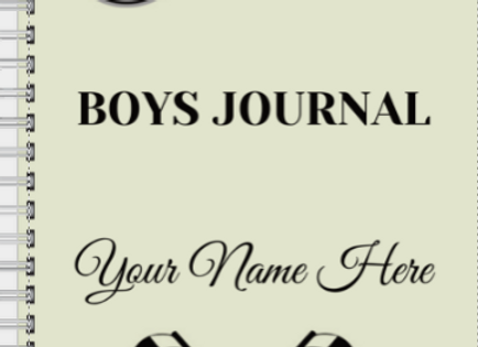 Boys Race Car Journal