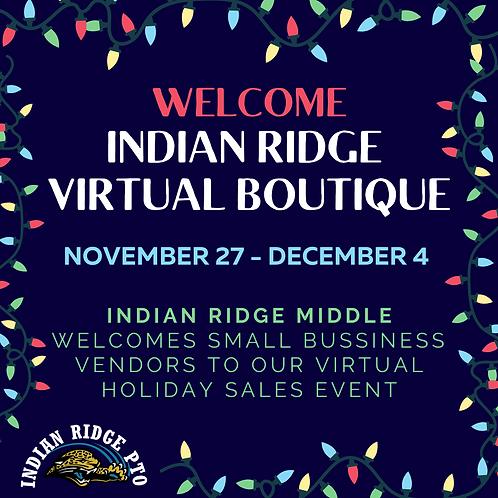 Entry to IRMS Virtual Boutique