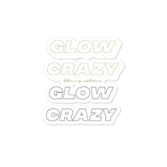 Glow Crazy Sticker