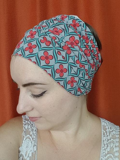 Red Wallflower Headband
