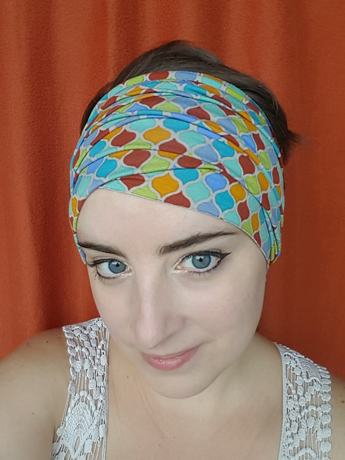 Sun-drenched Tiles Headband