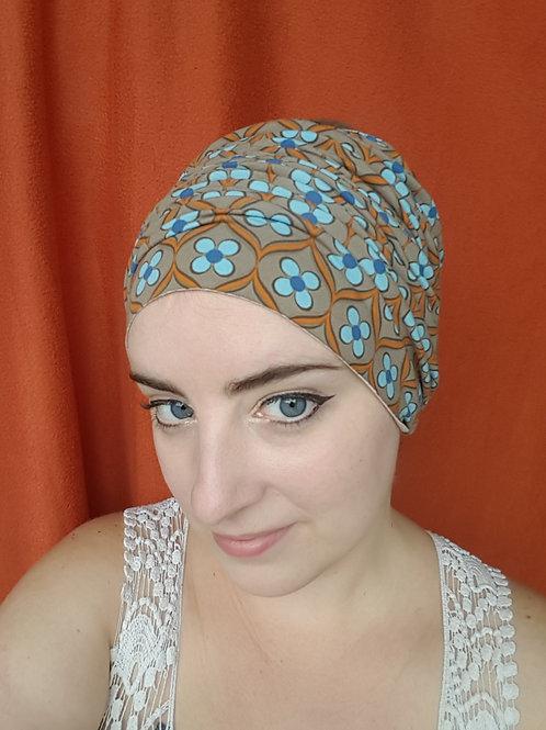 Blue Wallflower Headband
