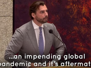 Thierry Baudet Exposes the Rockefeller Foundation in Parliament, Pandemic Report Prediction in 2010