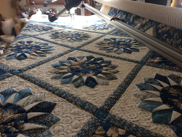 Blue Satr Quilting