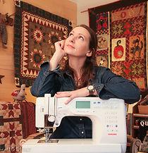 Cours quilting machine Alexia Rosfelder
