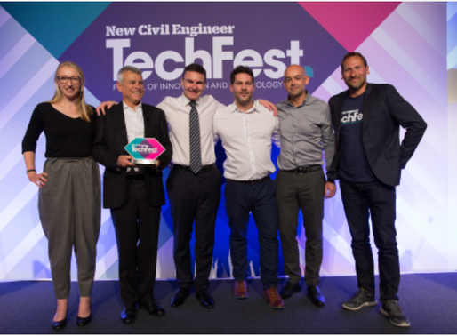 Utilis and Central Alliance Win Team of the Year Award at 2019 New Civil Engineer's TechFest